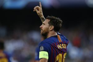 Messi scores record 8th Champions League hat trick