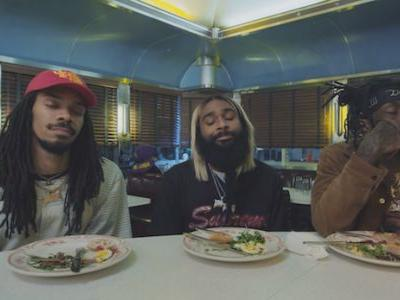 "Flatbush Zombies Share ""Vacation"" And Short Film With Lin-Manuel Miranda, Ice T, & John Leguizamo"
