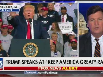 Tucker Carlson, With Trump Rally Assist, Dominates Thursday Night Ratings