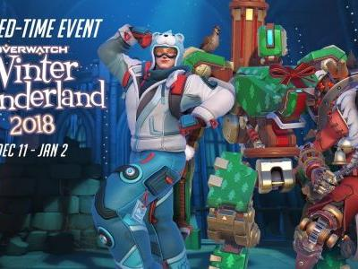 Overwatch Winter Wonderland Event is Now Live, New Cosmetics Added