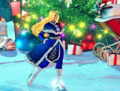 Deck the Halls in These New, Holiday-Themed Street Fighter V Costumes