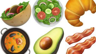 Avocado and Bacon Emojis Are Finally Here With Apple's Latest iPhone Update
