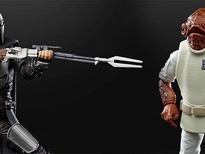 Cool Stuff: 'Star Wars' Black Series Line Expands with 'The Mandalorian' in Beskar Armor, Admiral Ackbar & More