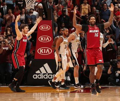 Post Up: Miami Heat Score Franchise-High 149 in Thriller