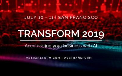 5 days to Transform 2019: Enterprise AI event of the year