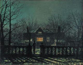 John Atkinson Grimshaw, The Figure at the Gate