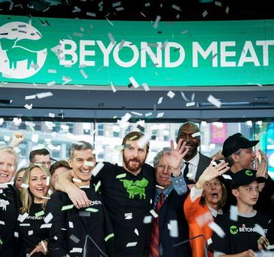 Beyond Meat gets slapped with a rare 'sell' rating after a Wall Street firm says it's not worthy of its 'tech valuation'