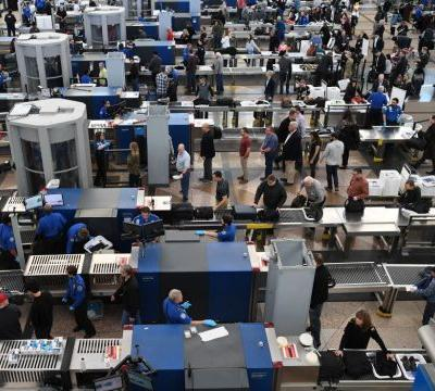 'Chaos out here': Number of no-show airport security screeners soars in shutdown