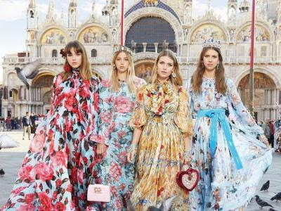 Dolce & Gabbana and Its Millennials Packed Up for Venice for Its Spring 2018 Campaign