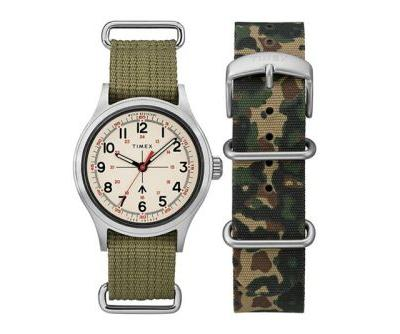 Todd Snyder's Latest Timex Collection Opts for Military Camo