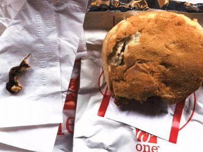 A woman claims she found a dead rat in her Chick-fil-A sandwich