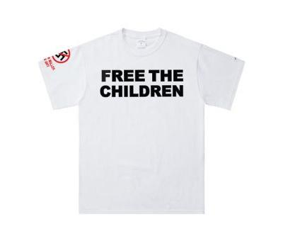 """NOAH Takes Aim at Border Separations With """"Free the Children"""" T-shirt"""