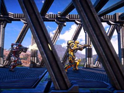 PlanetSide Arena will be the largest battle royale game around
