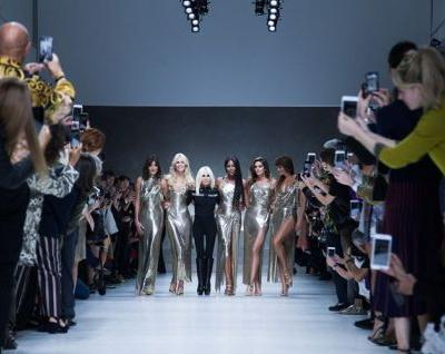 The OG supermodels just reunited to sing Freedom at Versace
