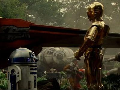 R2-D2 & C-3PO Reunite In Star Wars: The Rise of Skywalker Trailer