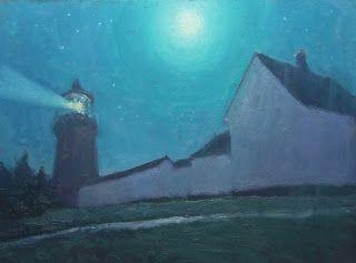 Monhegan Light House Nocturne