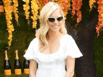 Sienna Miller Nailed Warm-Weather Dressing at the Veuve Clicquot Polo Classic