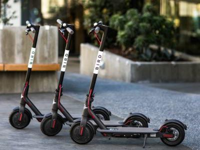 Scooter startup Bird is reportedly raising $300 million with assistance from financial giant Fidelity