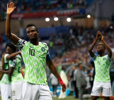 Nigeria captain hid dad's abduction, played World Cup match