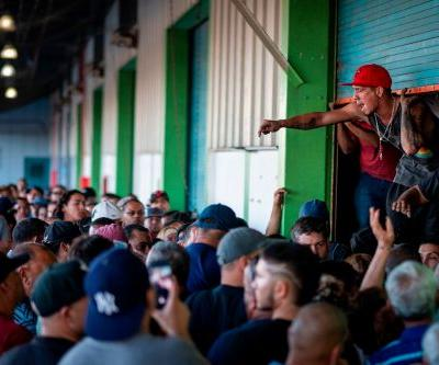 Chaos in Puerto Rico as mob finds unused disaster supplies