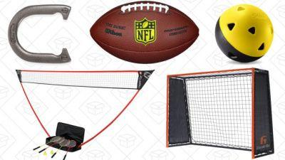 Relive Your Athletic Glory Days With Amazon's Backyard Sports Gold Box Deals