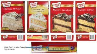 FDA confirms recalled Duncan Hines cake mixes were produced in the U.S
