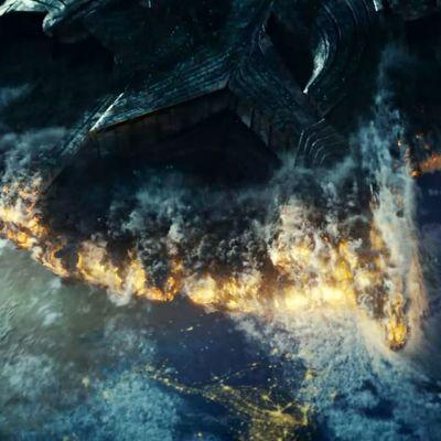 Why did the earth not get destroyed in Independence day: Resurgence?
