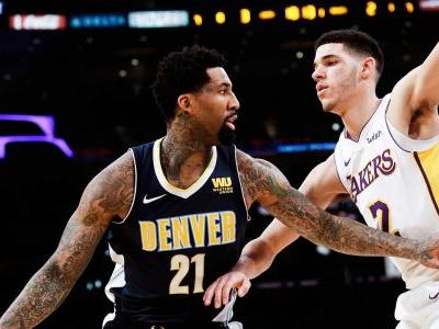 Lonzo Ball's triple-double sends Lakers past Nuggets