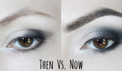 How I Did My Makeup In High School | Then Vs.Now