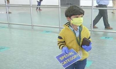 5-year-old flies alone from Delhi, mother receives him at Bengaluru airport