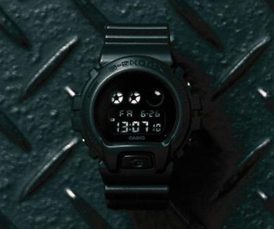 "SMG Rejoins G-SHOCK for Muted DW-6900BB ""Resurgence"""