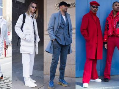 The Street Style Crowd Went Full Monochrome at New York Fashion Week: Men's