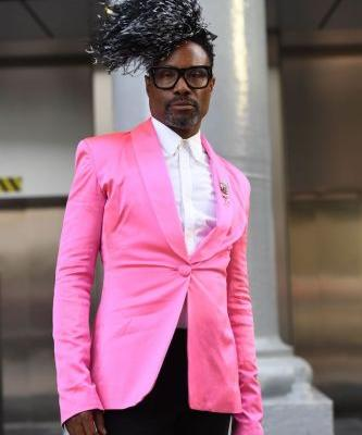 Billy Porter Was High-Key the Best Dressed Throughout All of London Fashion Week