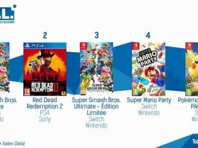 Super Smash Bros. Ultimate Dominates the French Charts