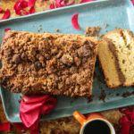 Coffee Cake Bread- gluten-free and vegan