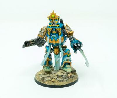 Showcase: Thousand Sons Contemptor Dreadnought by Silvernome