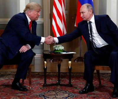 Trump and Putin meet for high-stakes summit