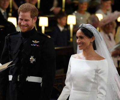 Prince Harry and Meghan Markle share behind-the-scenes pictures of royal wedding