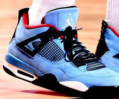 "P.J. Tucker Wore the Travis Scott x Air Jordan 4 ""Cactus Jack"" On Court Last Night"