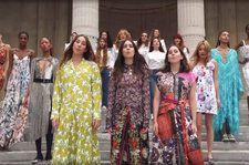 Haim Perform Shania Twain's 'That Don't Impress Me Much' With Supermodels in New 'Vogue' Video