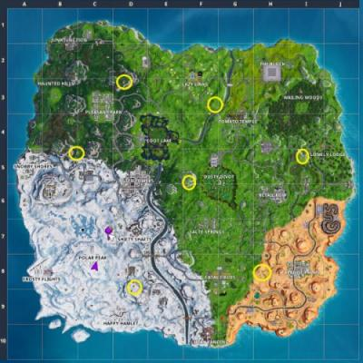 Fortnite: visit the Expedition Outposts