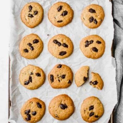 Chocolate Chip Healthy Cookies