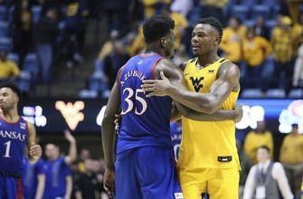 No. 3 Kansas finishes strong in Morgantown, beats No. 14 WVU