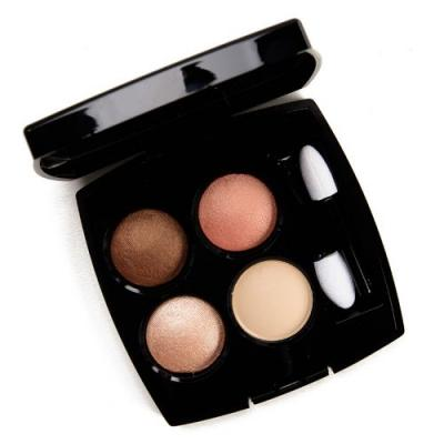 Chanel Lueurs Ambrees (314) Les 4 Ombres Eyeshadow Quad Review & Swatches