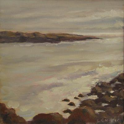 """Rockport Morning"" - 8 x 8 inches - oil on canvas"