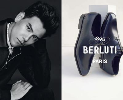 Eddie Peng, Antoine Gouffaux + More Front Berluti Spring '19 Campaign