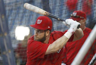 Nationals GM dodges questions on Bryce Harper long-term talks