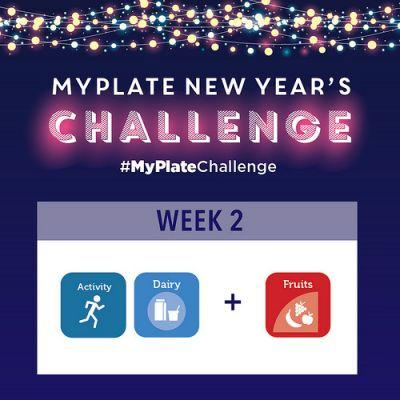 MyPlateChallenge Week 2 - Fruits & Physical Activity