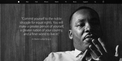 Apple recalls the lessons of Martin Luther King Jr