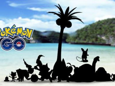 Alolan Forms of Kanto Pokémon Coming to Pokémon GO